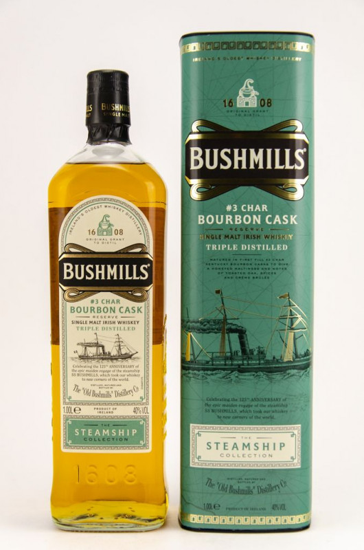Bushmills Bourbon Cask – The Steamship Collection