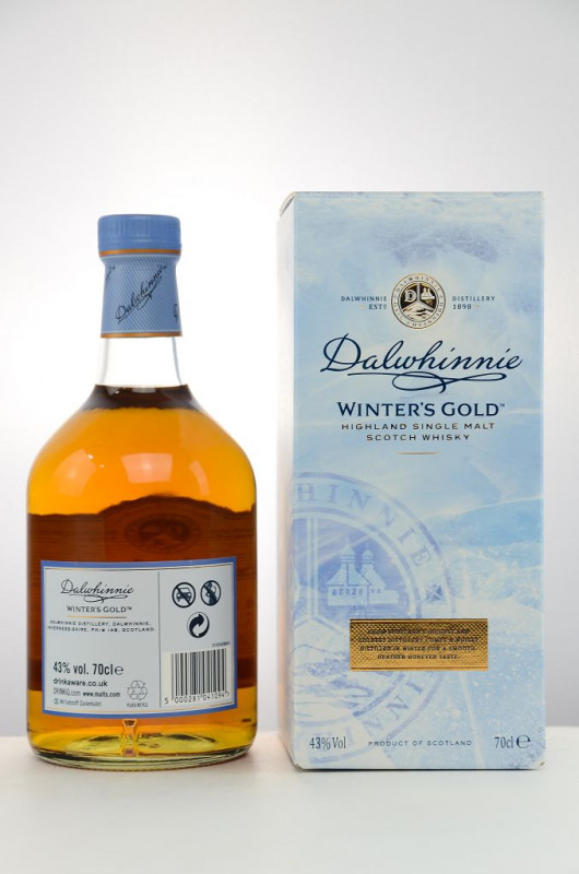 Dalwhinnie Winter's Gold back