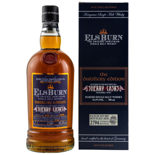 ElsBurn Sherry Casks The Distillery Edition 2020 – Batch 002