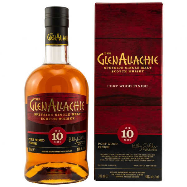 GlenAllachie 10 Jahre Port Wood Finish