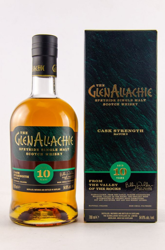 GlenAllachie 10 Jahre Cask Strength - Batch 02