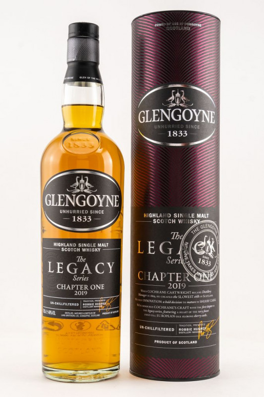 Glengoyne Legacy Chapter One front