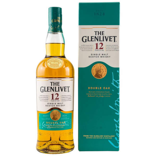 The Glenlivet 12 Jahre Double Cask front