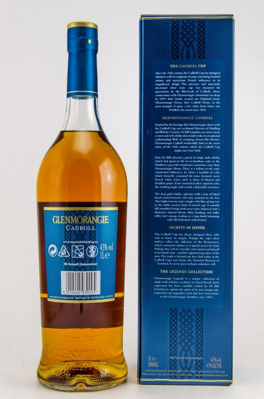 Glenmorangie The Cadboll back