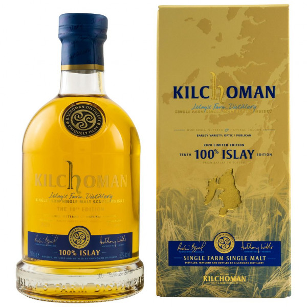 Kilchoman 100% Islay 10th Edition front