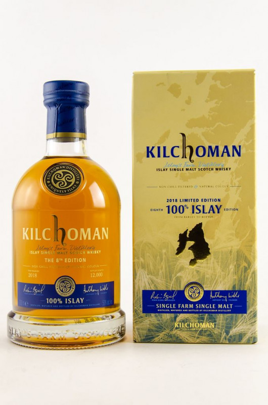 Kilchoman 100% Islay 8th Edition front