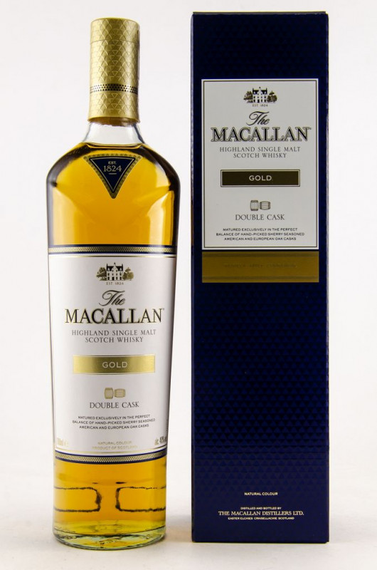 Macallan Double Cask Gold front