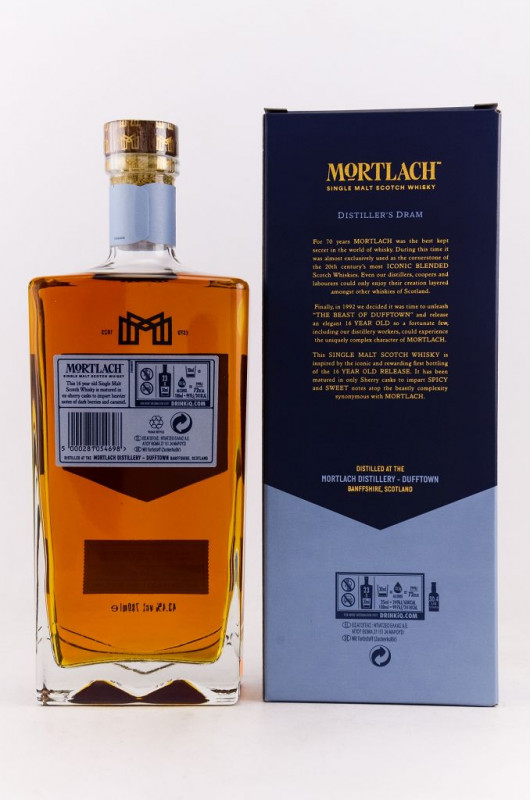 Mortlach 16 Jahre back