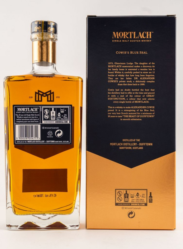 Mortlach 20 Jahre back