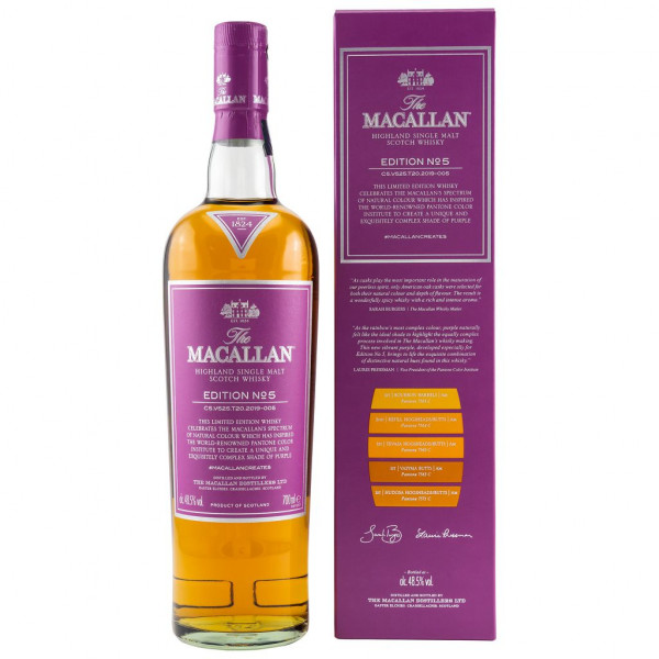 The Macallan Edition No. 5 front