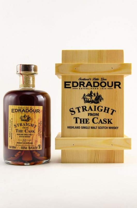 Edradour 2008/2018 Straight from the Cask Sherry Cask Nr. 48