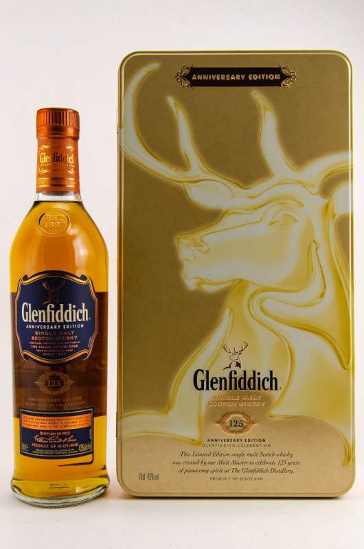 Glenfiddich 125th Anniversary Edition front