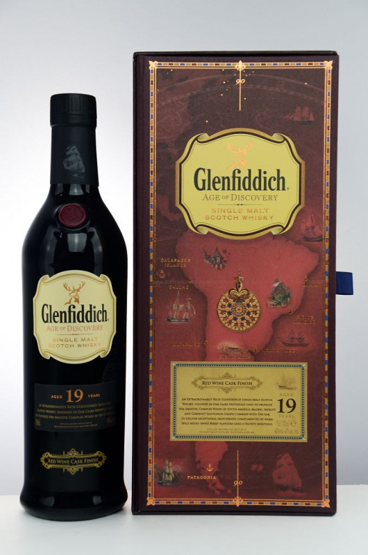 Glenfiddich Age of Discovery – 19 Jahre Red Wine Cask Finish front