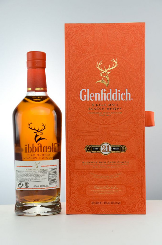 Glenfiddich 21 Jahre – Reserva Rum Cask Finish back