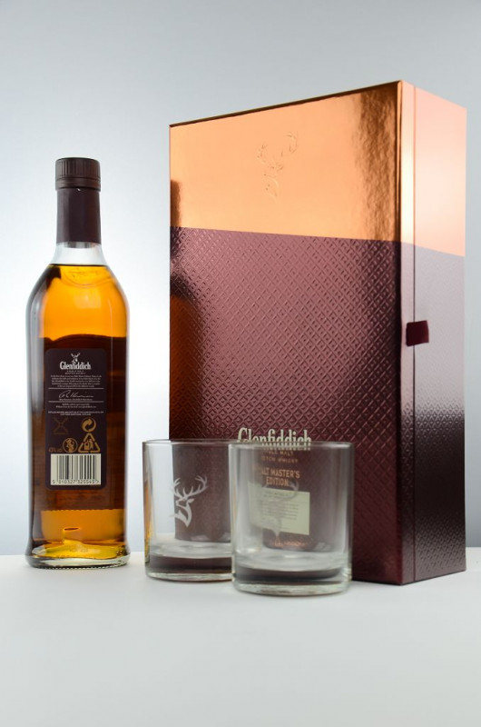 Glenfiddich Malt Master's Edition + 2 Gläser back