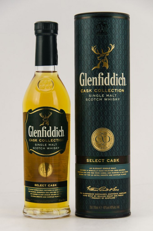 Glenfiddich Select Cask (200 ml) front