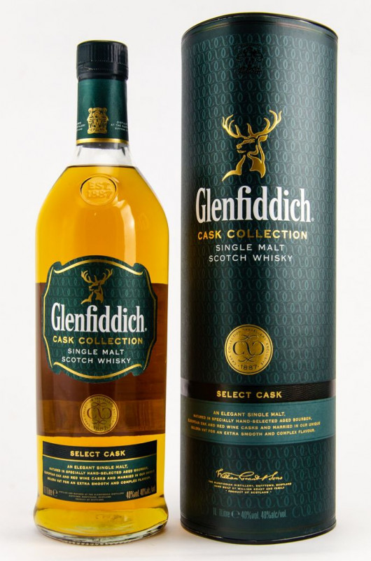 Glenfiddich Select Cask front