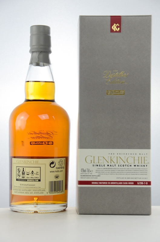 Glenkinchie Distillers Edition 2017 Back