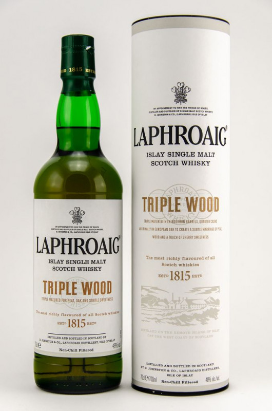 Laphroaig Triple Wood front