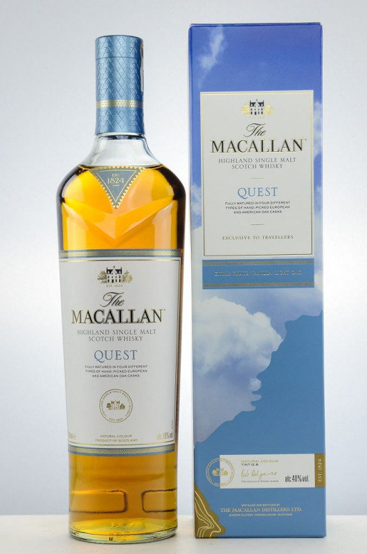The Macallan Quest front