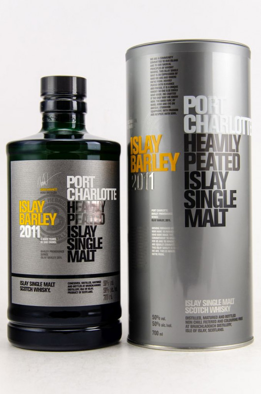 Port Charlotte 2011 Islay Barley front