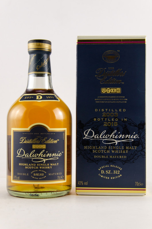 Dalwhinnie Distillers Edition 2018 front