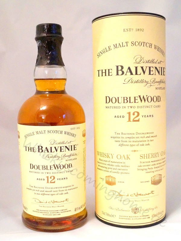 The Balvenie Doublewood 12 Years front