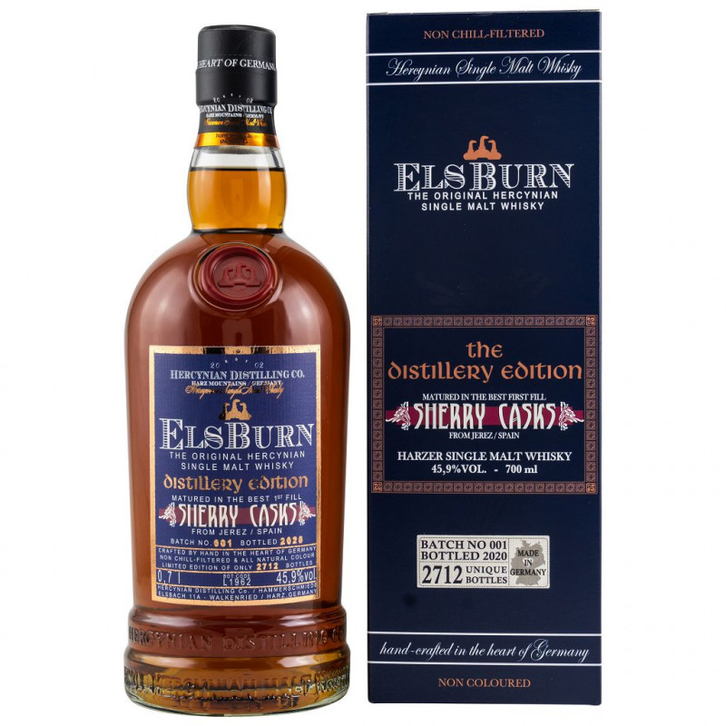 ElsBurn Sherry Casks The Distillery Edition 2020 front