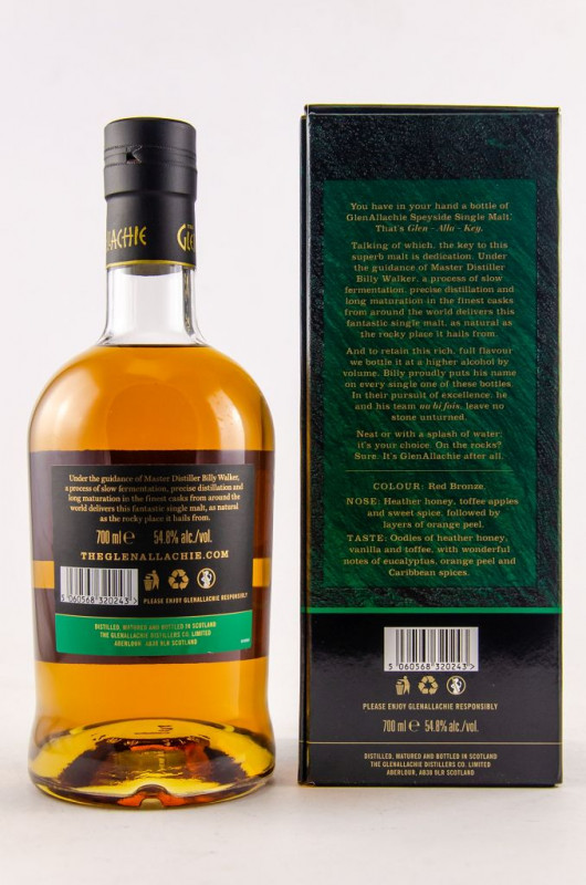 The Glenallachie 10 years Batch 2 back