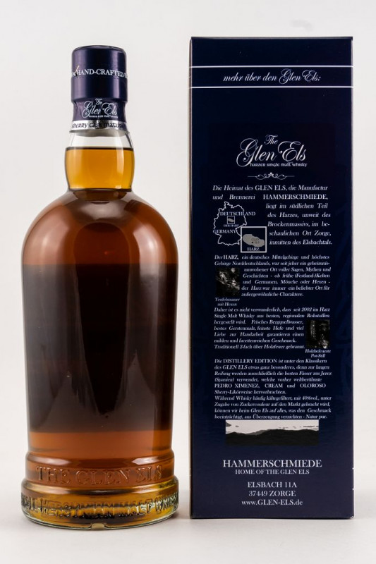 Glen Els Sherry Casks The Distillery Edition 2019 back