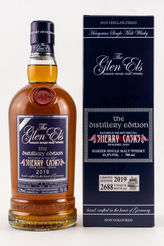 Glen Els Sherry Casks The Distillery Edition 2019 front