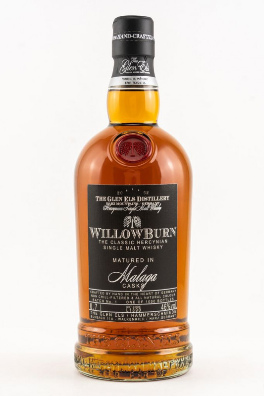 Glen Els Willowburn Malaga Cask 2019 Batch 1