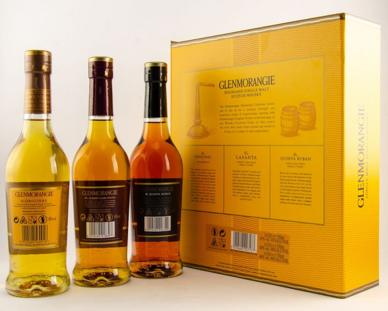 Glenmorangie Pioneering Collection back outside