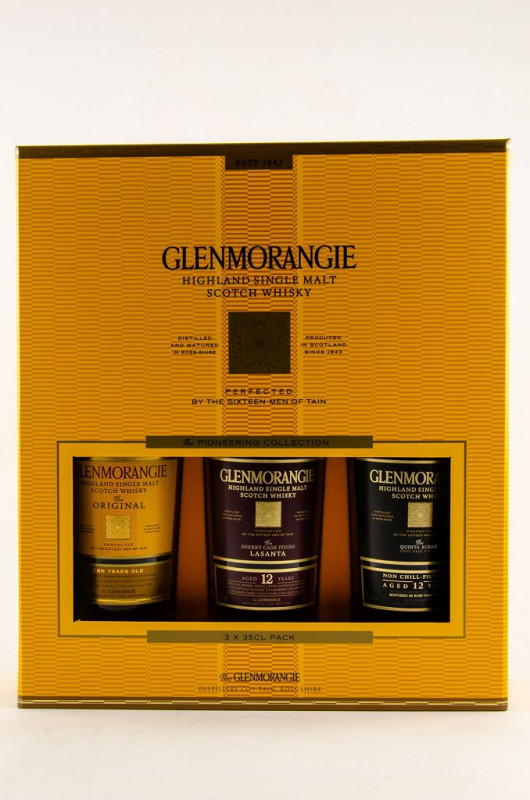 Glenmorangie Pioneering Collection front inside