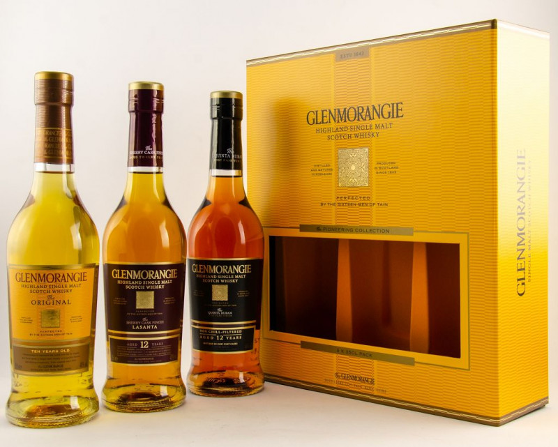 Glenmorangie Pioneering Collection front outside