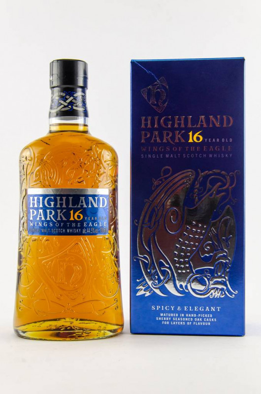 Highland Park 16 Jahre Wings of the Eagle front