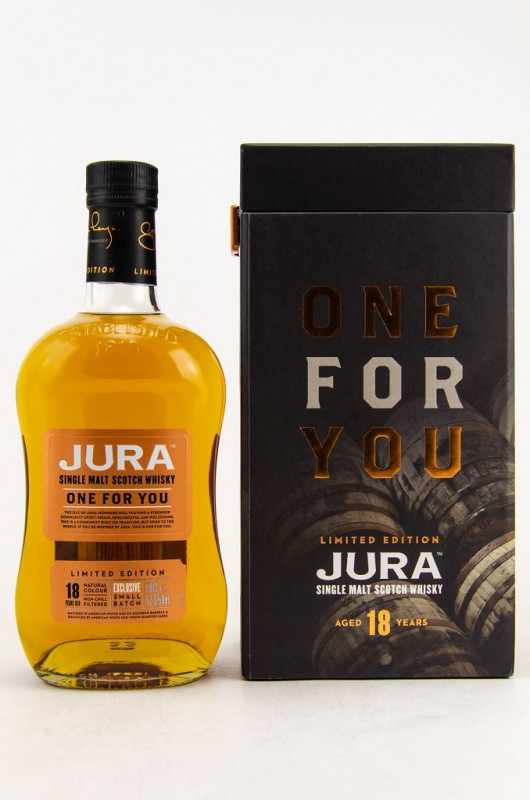 Jura One for You 18 Jahre front