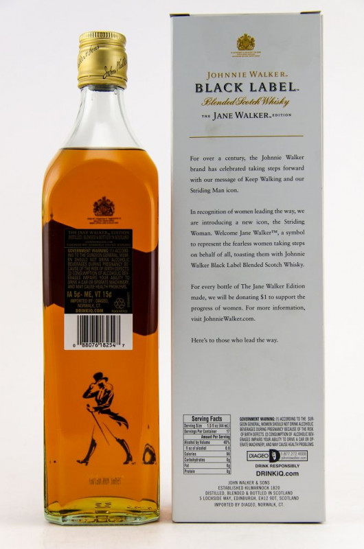 Johnnie Walker Black Label - The Jane Walker Edition 12 Jahre back
