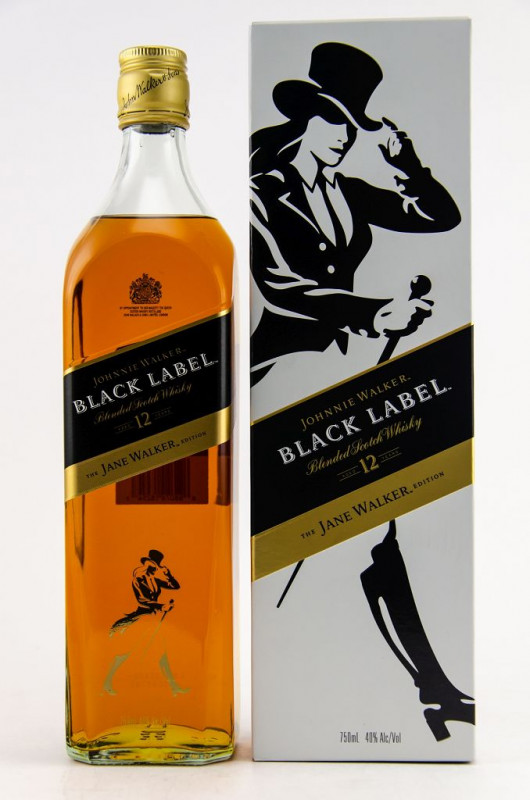 Johnnie Walker Black Label - The Jane Walker Edition 12 Jahre front
