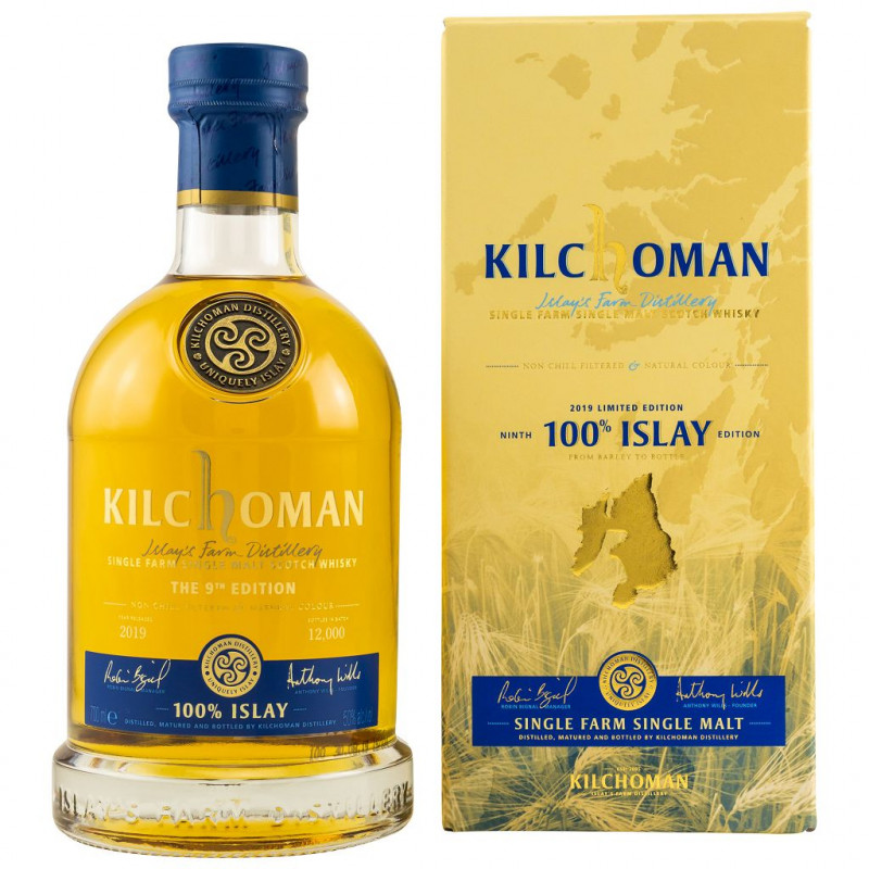 Kilchoman 100% Islay 9th Edition front