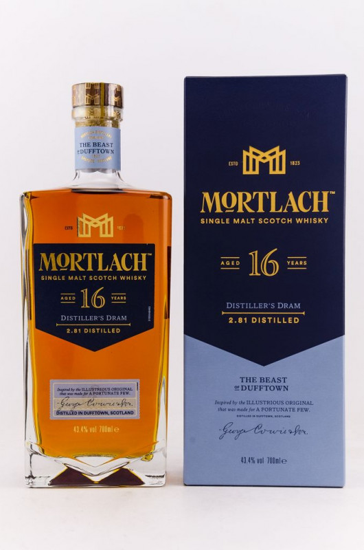 Mortlach 16 Jahre front