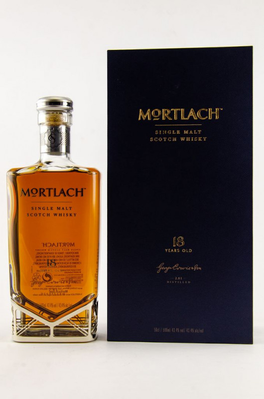 Mortlach 18 Jahre front