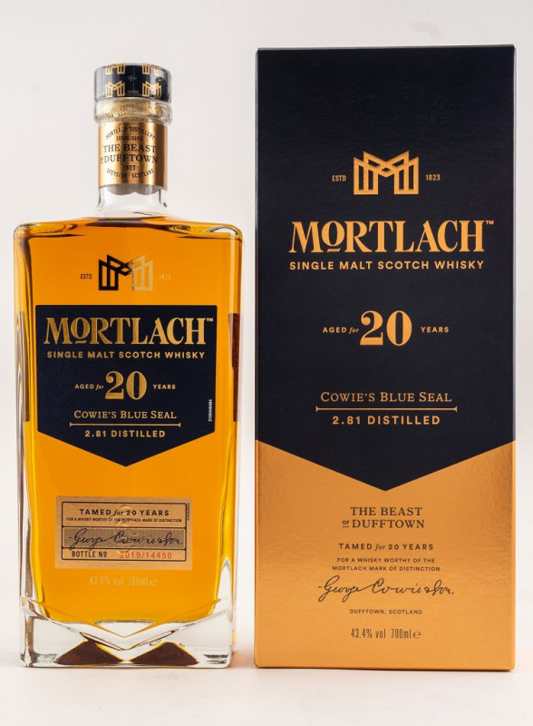 Mortlach 20 Jahre front