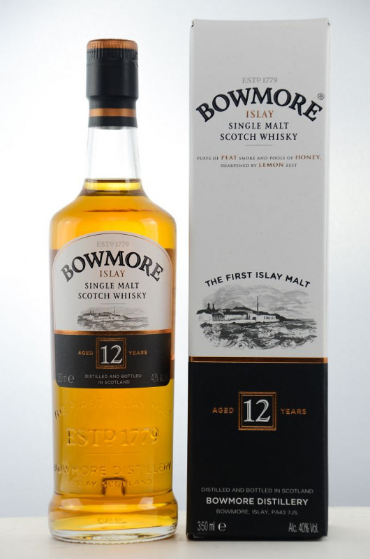 Bowmore 12 Jahre (350ml) front
