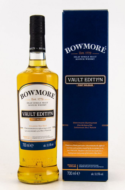 Bowmore Vault Edition Atlantic Sea Salt First Release front
