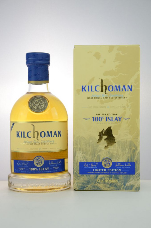 Kilchoman 100% Islay 7th Edition front