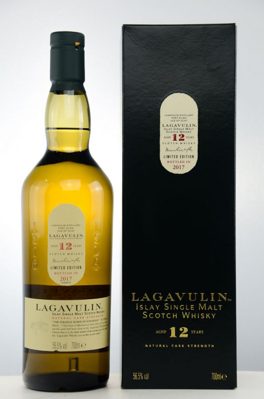 Lagavulin 12 Jahre (2017) front