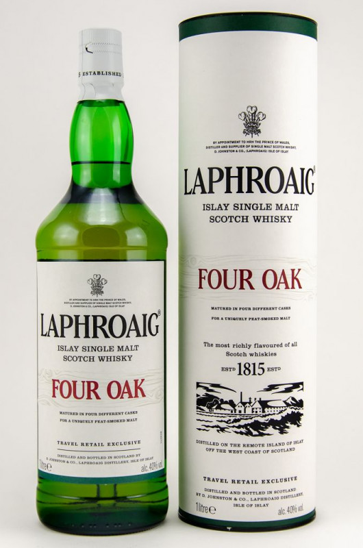 Lapgroaig Four Oak front