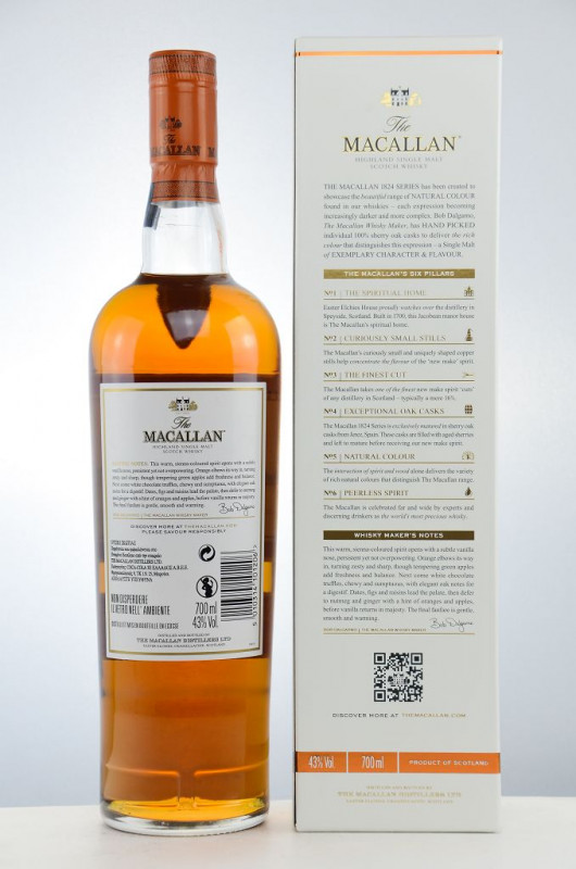 The Macallan Sienna back