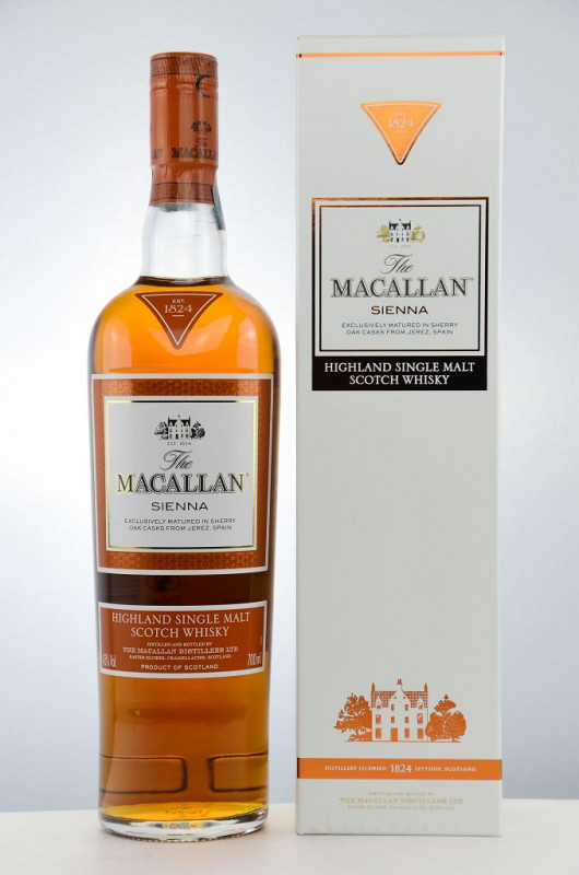 The Macallan Sienna front